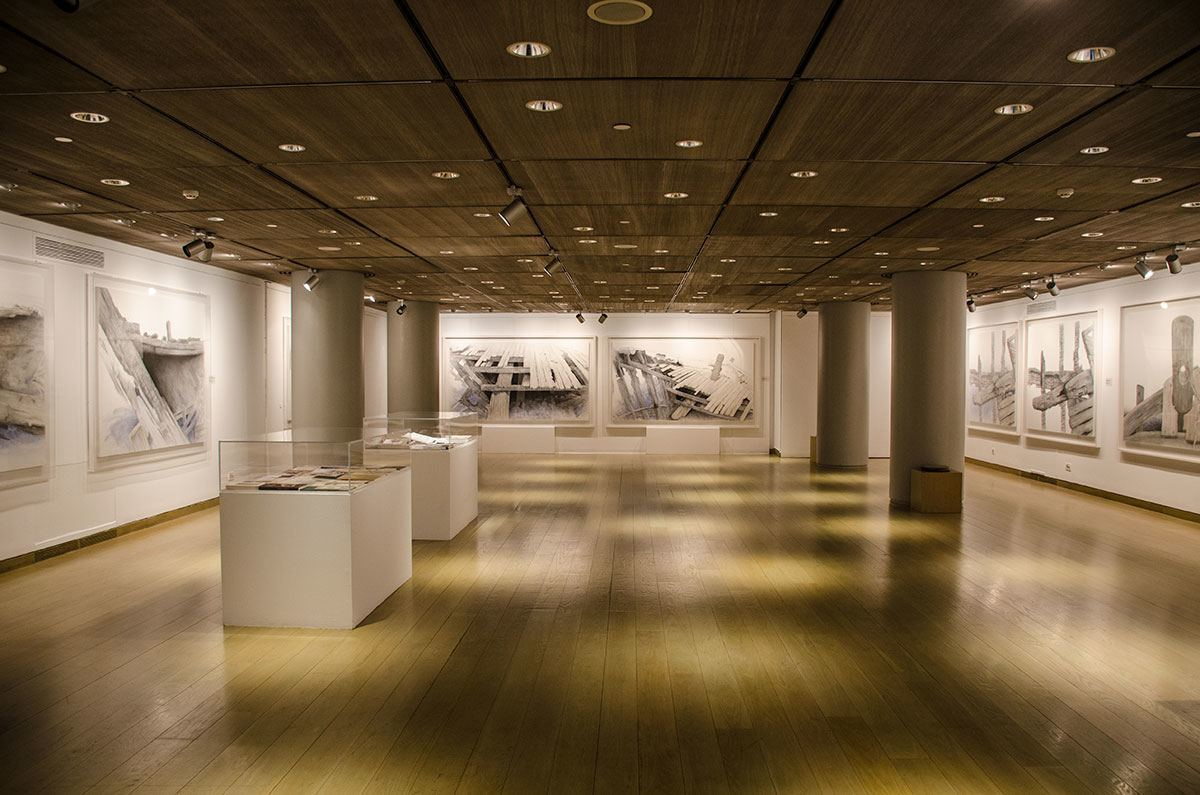 Galleries for temporary and permanent exhibitions