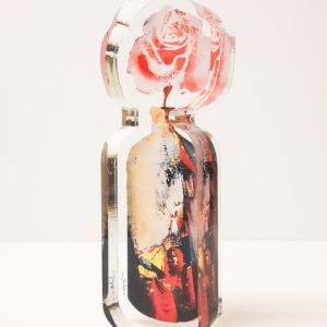 Βάζο με τριαντάφυλλο