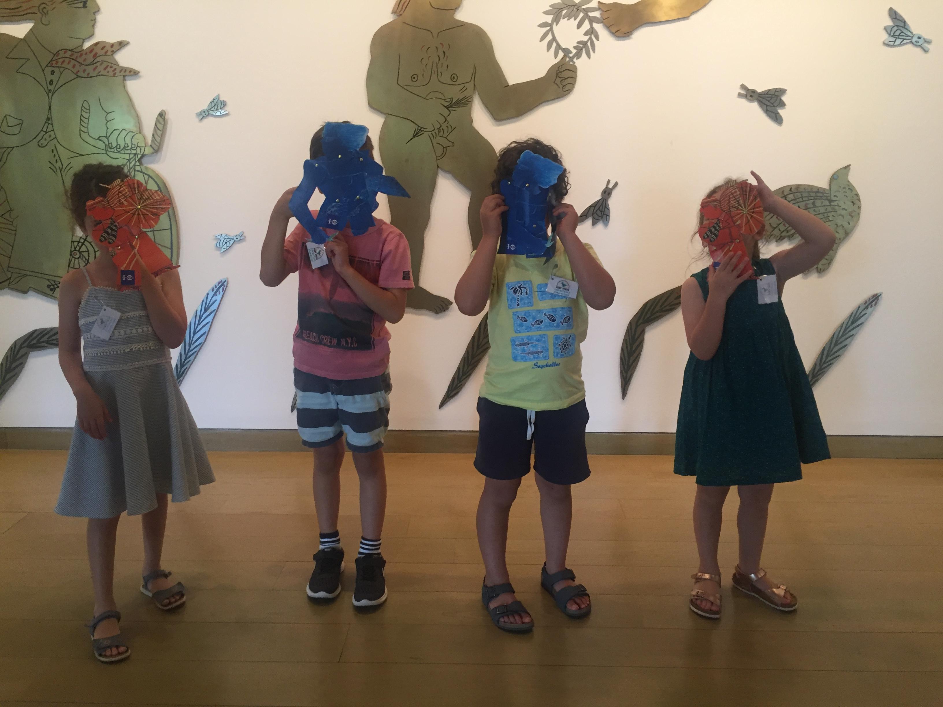 Μικροί καλλιτέχνες με αφορμή μια έκθεση | Για παιδιά 8-12 ετών