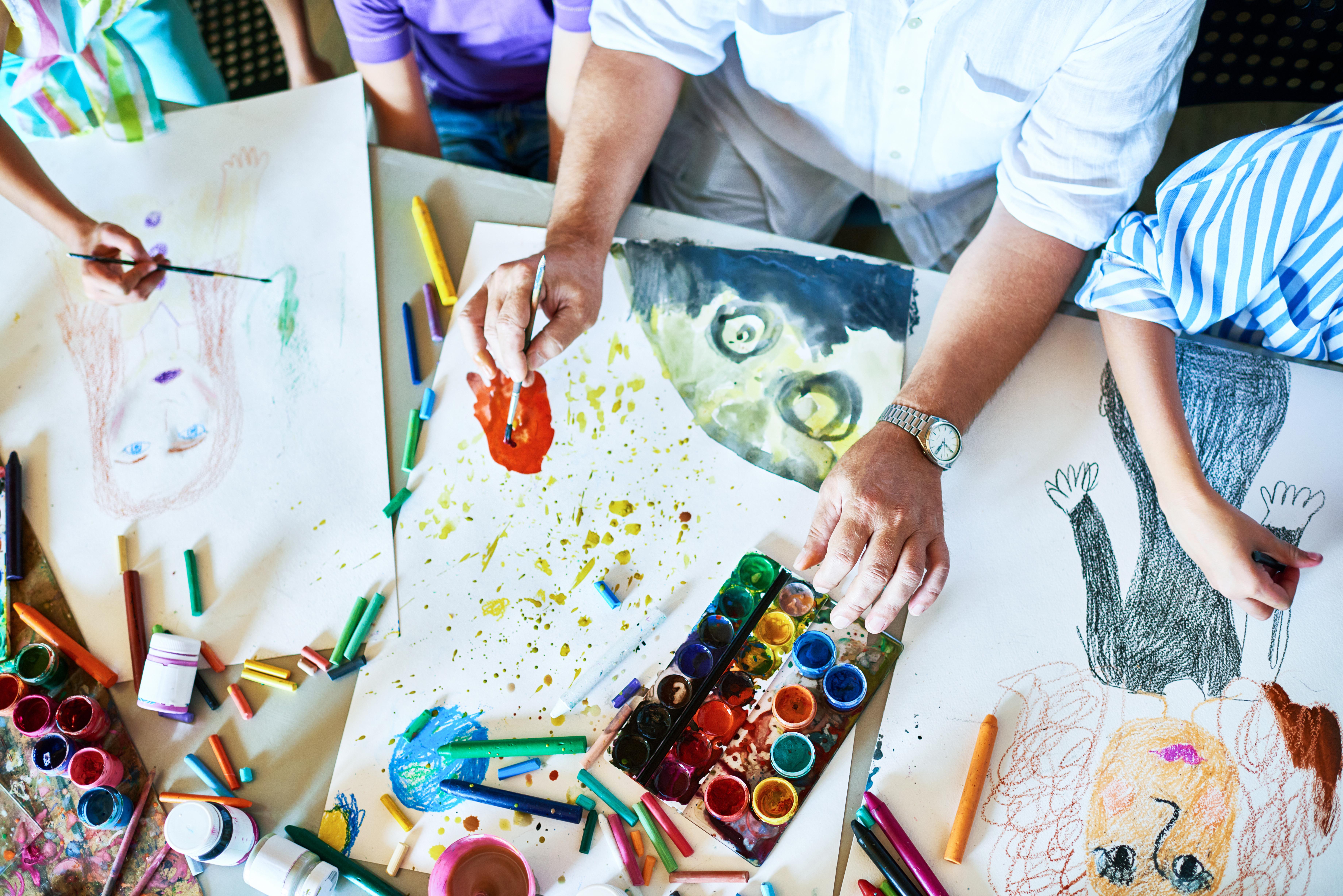 Χρωματίζω σαν μοντέρνος | Για παιδιά 8-12 ετών