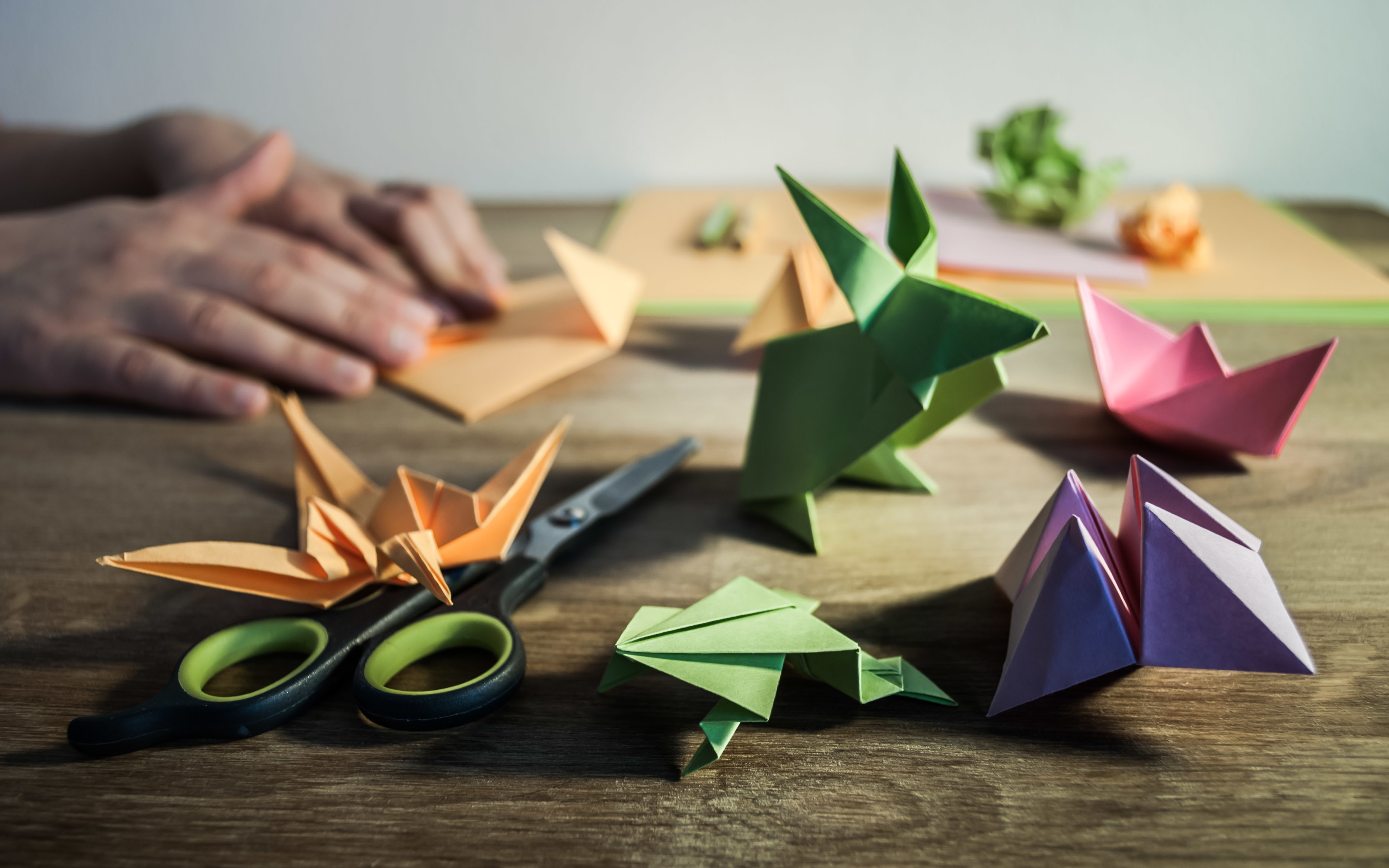 Origami – Η τέχνη του διπλωμένου χαρτιού   Για Ενήλικες